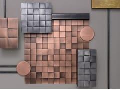DE CASTELLI, SQUARE 30 Mosaico in metallo