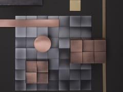 Mosaico in metalloSQUARE 50 - DE CASTELLI
