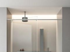 Soffione doccia a soffitto rotondo in acciaio inox con sistema anticalcareSQUARE   Soffione doccia a soffitto - AGAPE