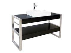 Consolle lavabo in Pietraluce® SQUARE B2 | Consolle lavabo - Square