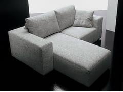 Divano in tessuto a 2 posti SQUARE   Divano con chaise longue - Square