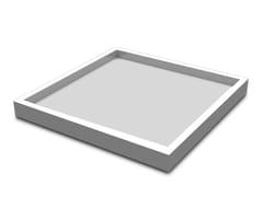 Vassoio quadrato in resina SQUARE LARGE | Vassoio - SQUARE