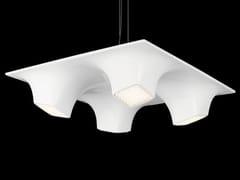 Lampada a sospensione a LED in PMMA SQUEEZE 4 - SQUEEZE