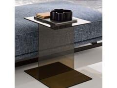 Tavolino da caffè in vetro in stile moderno da salotto ST. GERMAIN | Tavolino in vetro - St. Germain