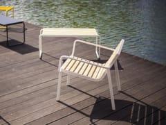 Seduta da esterni in acciaio e legnoSTACK | Seduta da esterni - MMCITÉ 1