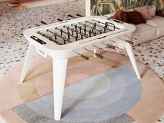 Calciobalilla rettangolare in legnoSTADIUM - VISMARA DESIGN