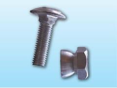 Ferro Bulloni, BULLONE INOX 8X30 CON DADO DI SICUREZZA Bullone in metallo