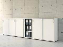 Mobile ufficio basso con ante scorrevoli STANDARD | Mobile ufficio basso - Standard