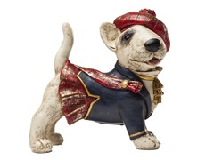Scultura in resina STANDING SCOT DOG -