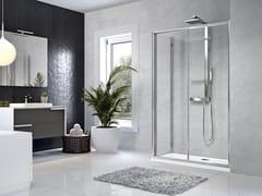 Box doccia angolare con porta scorrevoleSTAR | 2P + F - NOVELLINI