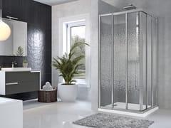 Box doccia angolare con porta scorrevoleSTAR | 3A - NOVELLINI