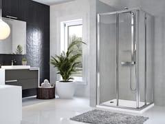 Box doccia angolare con porta scorrevoleSTAR | A - NOVELLINI