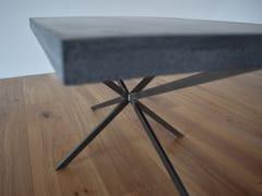 Tavolino da caffè rettangolare in calcestruzzoSTAR - BETTON