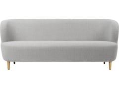 Divano a 3 postiSTAY SOFA | 190X70 wooden legs - GUBI