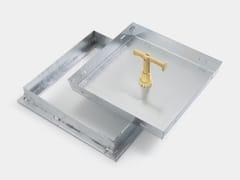 Chiusino e griglia per impianto idrosanitarioSTEEL - GRIGLIATI BALDASSAR