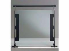 Parapetto in acciaio e vetroSTEEL LUX - SIAMESI BY CASA ITALIA