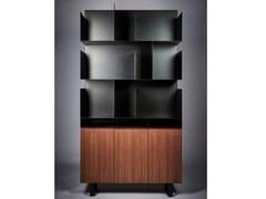 Libreria a giorno in acciaio e legnoSTEELTOP - REDA AMALOU DESIGN