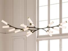 Lampada a sospensione a LED in ottoneSTEINWAY HAARA - CAMERON DESIGN HOUSE