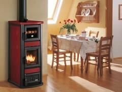 Stufa a legna per riscaldamento aria classe ASTELLA CON FORNO - PALAZZETTI LELIO