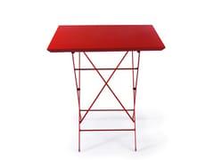 Tavolo da giardino pieghevole in metalloSTEP | Tavolo - VERMOBIL