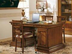 Scrivania rettangolare in legno massello con cassettiSTILE | Scrivania - ARVESTYLE