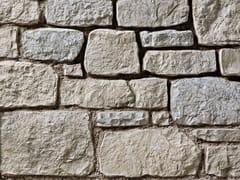 Rivestimento in pietra ricostruitaSTINO P23 | Bianco Terra - GEOPIETRA