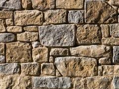 Rivestimento di facciata in pietra ricostruitaSTINO P23 - GEOPIETRA®