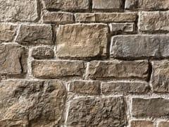 Rivestimento in pietra ricostruitaSTINO P23 | Marrone Costa - GEOPIETRA
