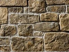 Rivestimento in pietra ricostruitaSTINO P23 | Marrone Terra - GEOPIETRA