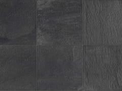 Pavimento per esterni in gres porcellanato a tutta massa effetto pietraSTONE D Quarzite grafite - ITALGRANITI