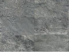 Pavimento/rivestimento in gres porcellanato effetto marmo per interni ed esterniSTONE MIX Quarzite Grey - ITALGRANITI