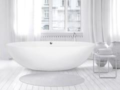 AQUAdesign, STONE ONE BIG Vasca da bagno centro stanza ovale
