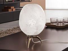 Lampada da tavolo a LED in vetro soffiatoSTONE | Lampada da tavolo - PATRIZIA VOLPATO