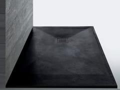 Piatto doccia su misura neroSTONEFIT   Piatto doccia su misura nero - SAMO