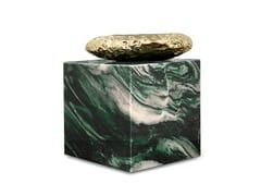 Tavolino quadrato in marmoSTONEHENGE LAPONIA GREEN - BOCA DO LOBO