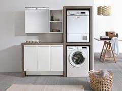 Mobile lavanderia con lavatoio per lavatriceSTORE 417 - GRUPPO GEROMIN
