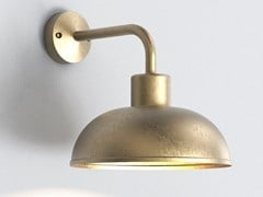 Lampada da parete per esterno a LED in ottoneSTORNOWAY - ASTRO LIGHTING