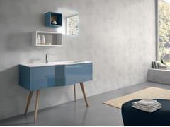Mobile lavabo da terra con specchio STR8 113 - Str8