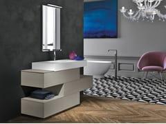Mobile lavabo con cassetti STR8 127 - Str8