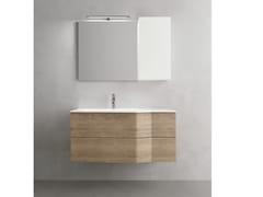 Mobile lavabo sospeso con cassetti STR8 319 - Str8