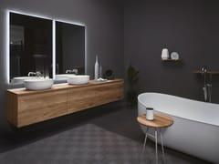 Arredo bagno completo in legno STRATO | Arredo bagno completo in legno - Strato