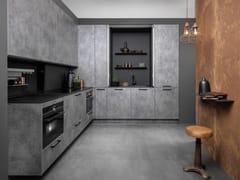Cucina componibile in legno con maniglieSTRATO - RATIONAL