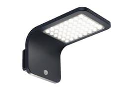 Applique per esterno a LED ad energia solare in alluminio pressofusoSTREET - SOVIL