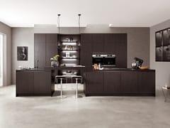 Cucina componibile in legno con isolaSTRUCTURA 403 | Cucina - NOBILIA-WERKE J. STICKLING
