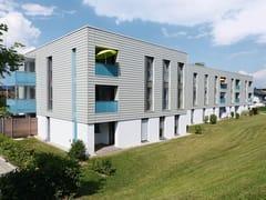 Pannello per facciata in metalloSTRUCTURE® FAÇADE - DOMICO DACH-, WAND- UND FASSADENSYSTEME KG