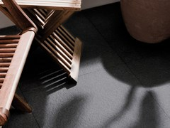 Pavimento/rivestimento in gres porcellanato STUC BLACK - URBATEK - Grès Porcellanato