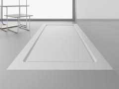 Piatto doccia rettangolare ultrapiattoSTUDIO PLUS - ABSARA INDUSTRIAL