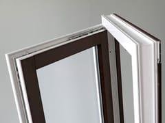 PIVA GROUP, STYLE70 CON ALUCLIP Finestra in alluminio e PVC