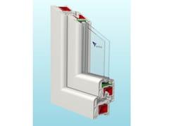 Finestra scorrevole in PVC STYLE70 | Scorrevole parallelo -