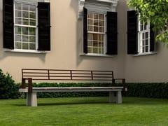 Panchina con braccioli con schienaleSUA - ULMA ARCHITECTURAL SOLUTIONS
